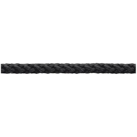 Ficelle en polypropylène tressée dörner + helmer 190018 (Ø x L) 4 mm x 200 m noir