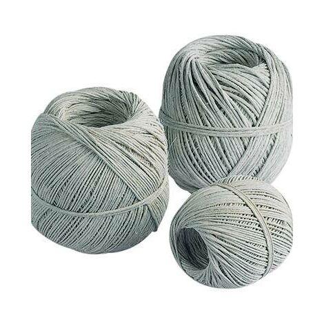 ficelle fibres naturelles Epaisseur: 1.4 mm 80 m Charge max.: 8 kg S317261