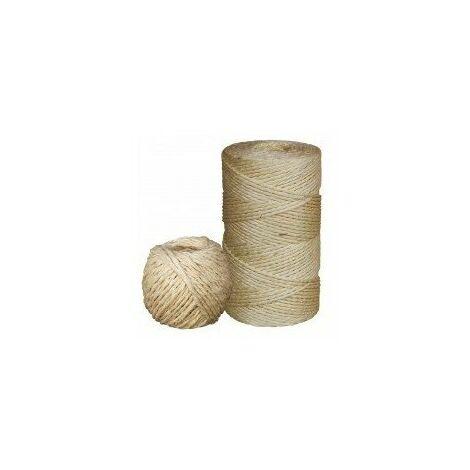 Ficelle sisal pelote 1kg 3mmfisi0603p100n