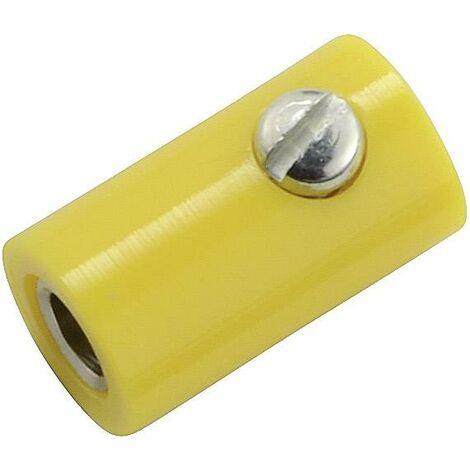 Fiche banane femelle Ø de la broche: 2.6 mm Kahlert Licht jaune 1 pc(s) D29023
