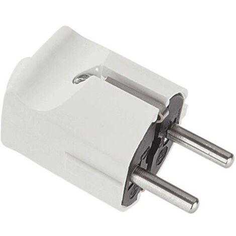 Fiche électrique mâle avec terre Bachmann 910.270 910.270 plastique 250 V blanc IP20 1 pc(s) C263061