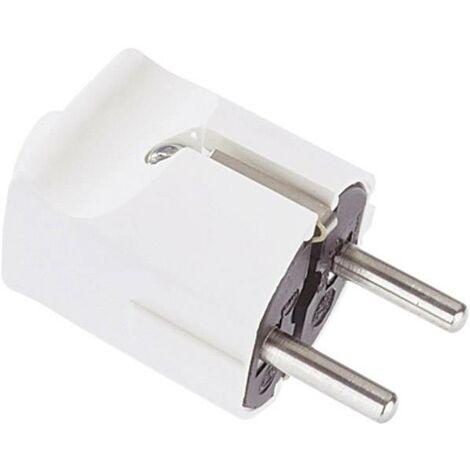 Fiche électrique mâle avec terre Bachmann 910.470 910.470 plastique 250 V marron IP20 1 pc(s) C263001