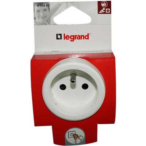 Fiche Gigogne Legrand 2p+t16 A Fb - Sachet 5 Legrand