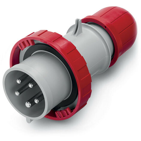 Fiche Industrielle Mâle 32A IP66 Optima SCAME 3P+N+T 415 V AC - 3P+N+T 415 V AC