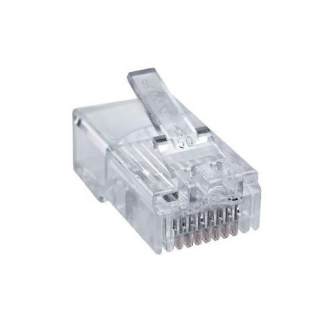 Fiche informatique RJ45 pour câble rond - Catégorie 5E - 8 contacts - Legrand