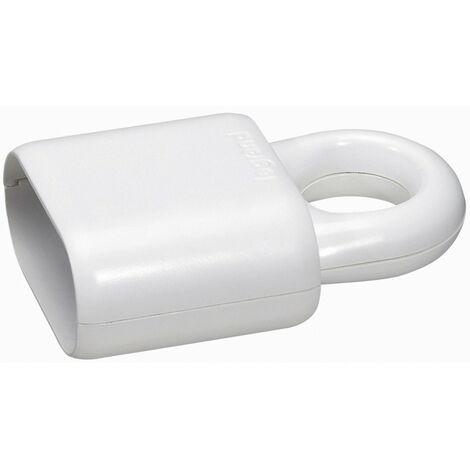 Fiche plastique 2p- 6 a femelle blanc
