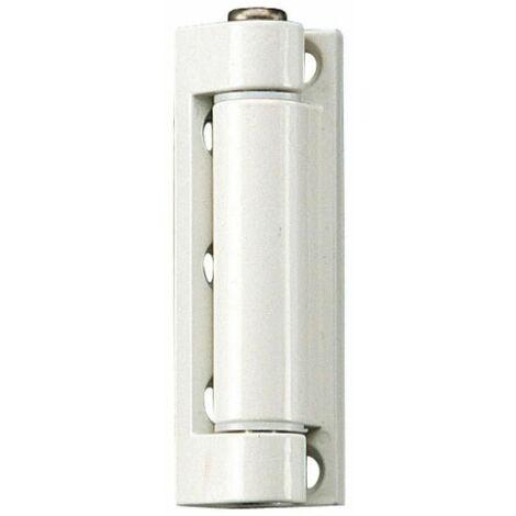 Fiches menuiserie PVC - nœud diamètre 14 mm hauteur 100 mm - biais de 5° sur platine d'ouvrant type K 3282 C WF