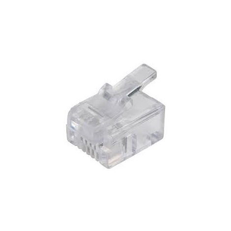 Fiches RJ11 - 4 contacts RJP 6/4