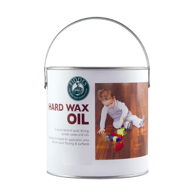 Image of Fiddes Hard Wax Oil - Clear - Satin 1 Litre