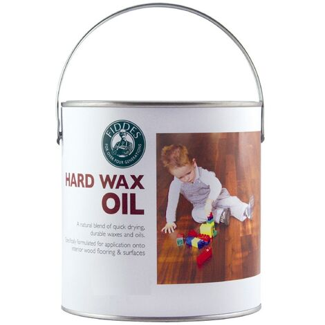 Fiddes - Hard Wax Oil - Matt and Satin - Clear