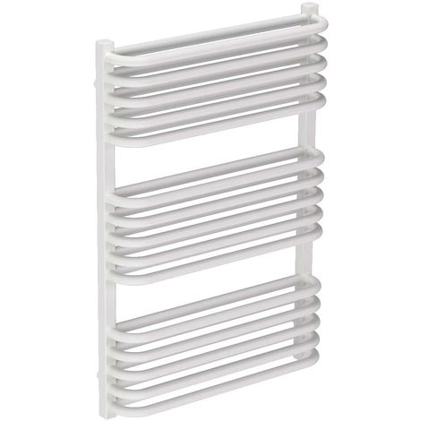 Fiennes White 736mm x 500mm Heated Towel Rail