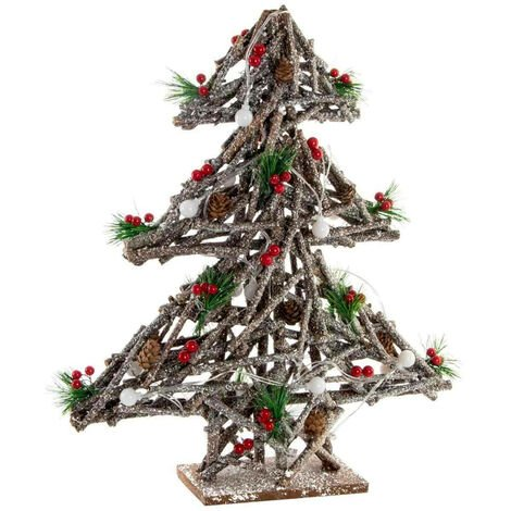 FIGURA ÁRBOL WOOD CON LED