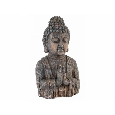 Figura de Buda de Fibra de Vidrio