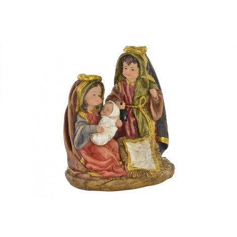 Figura de Nacimiento para Portal de Belén Grande, realizada en Resina. Diseño Moderno, con estilo Navideño - Hogar y Más
