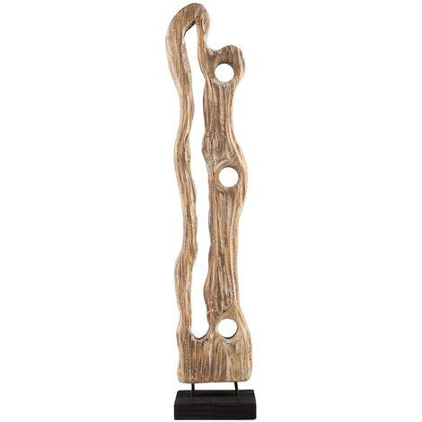 Figura decorativa de madera CHICANNA