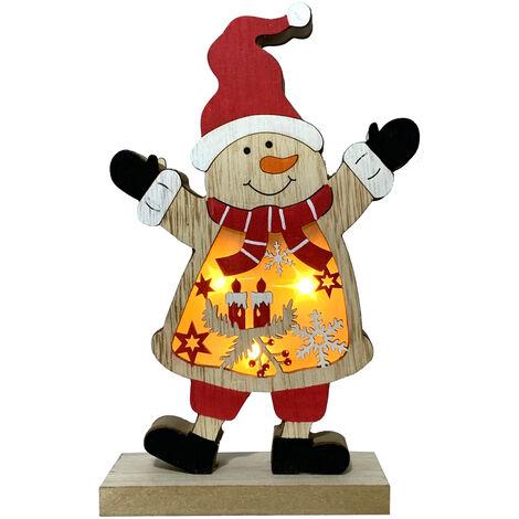 Figura muñeco de nieve con luz (Electro DH 96.000)