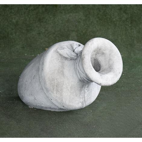 """main image of """"Figura Surtidor clásica de hormigón-piedra Mod. Anfora Caida 65x36cm."""""""