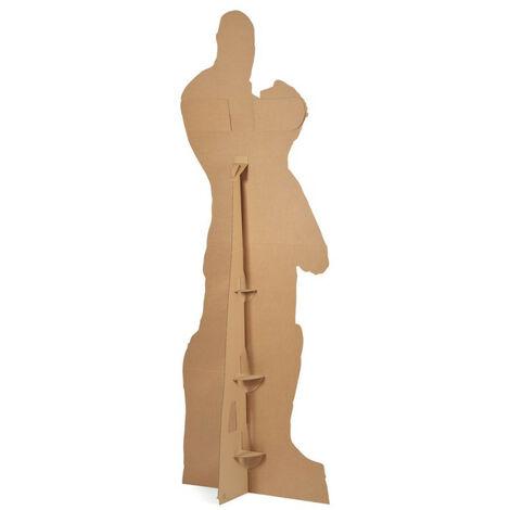 Figurine en carton taille réelle Bébé Yoda alias Grogu minion film série Mandalorian H 95 CM