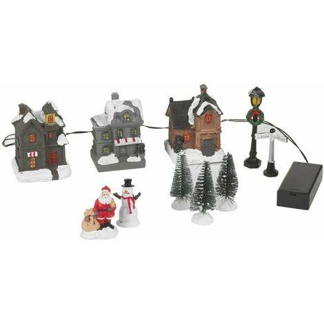"""main image of """"Figurines lumineuses pour village de Noël """""""