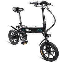 Fiido D1 Mini Alliage Daluminium Smart Pliant Vélo électrique Cyclomoteur Vélo Eu Plug