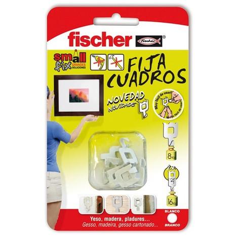 Fija-cuadros 8 unidades fischer - varias tallas disponibles