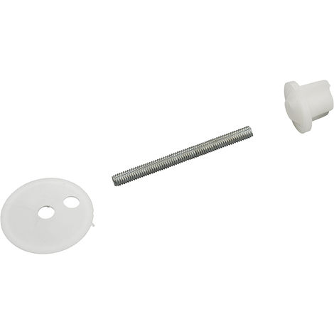 fijaciones tapa WC modelo GEDY tornillos 6x70 mm x2