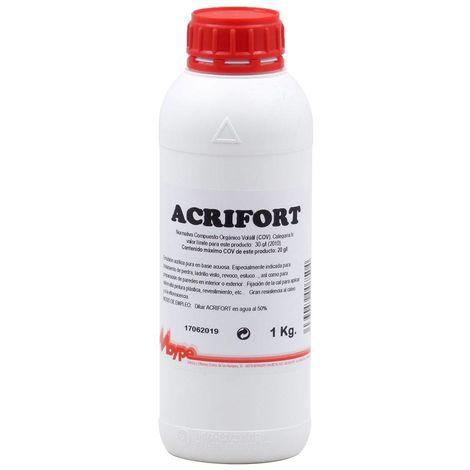 Fijador acrílico al agua ACRIFORT Moype