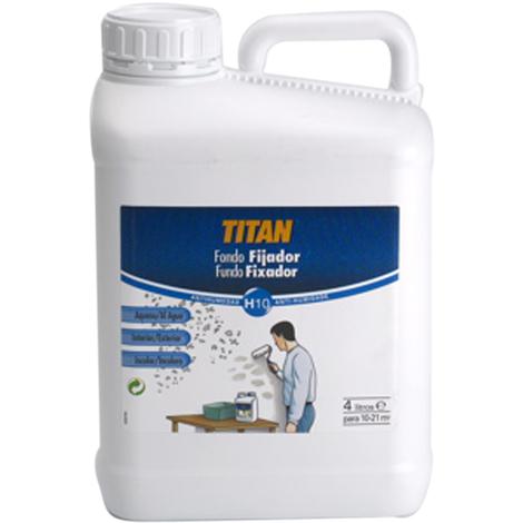 Fijador Fondo al Agua Incoloro - TITAN - H10000304 - 4 L
