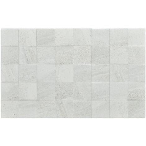 Fiji White Décor 25x40 Ceramic Tile