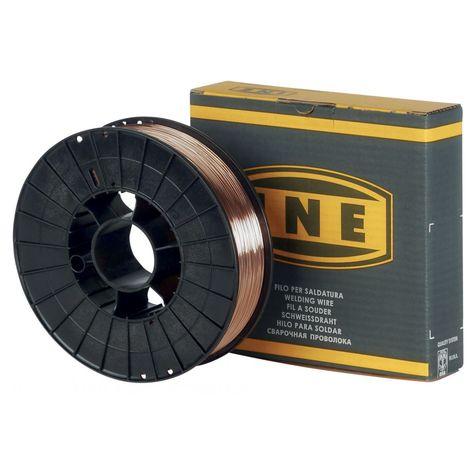 Fil à souder acier 0.6mm - 5kg -soudage MIG-MAG semi-automatique-en bobine de fil de soudure-Fil acier non fourré