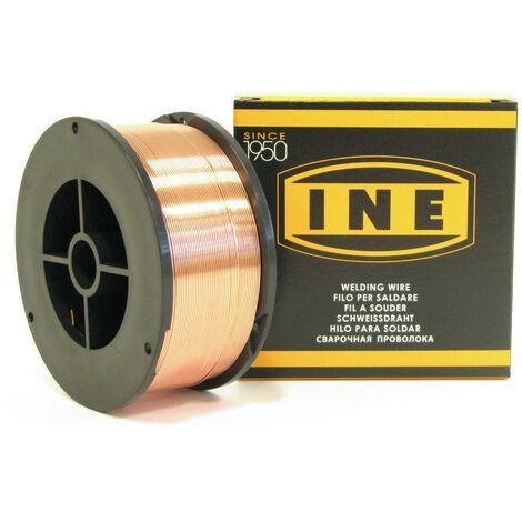 Fil à souder acier 0.6mm - 700g -soudage MIG-MAG semi-automatique-en bobine de fil de soudure-Fil acier non fourré