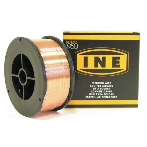 Fil à souder acier 0.6mm - 700gr -soudage MIG-MAG semi-automatique-en bobine de fil de soudure-Fil acier non fourré