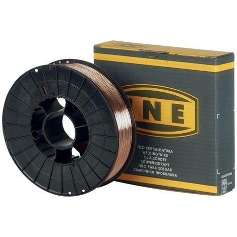 Fil à souder acier 0.8mm - 5kg -soudage MIG-MAG semi-automatique-en bobine de fil de soudure-Fil acier non fourré