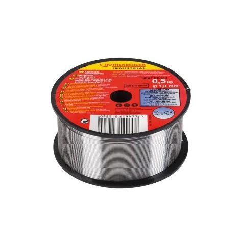 Fil à souder aluminium, Ø 1 mm 0,5 kg ROTHENBERGER