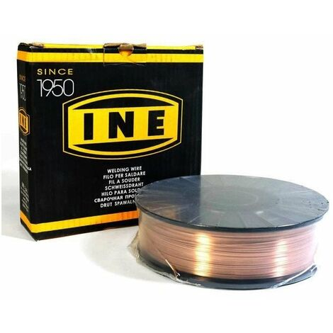 Fil acier 0.8mm 5kg SG2 Soudage MIG-MAG Bobine diamètre 200mm