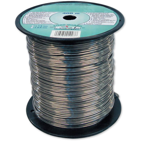 Fil de clôture aluminium 400 m diamètre 1,6 mm