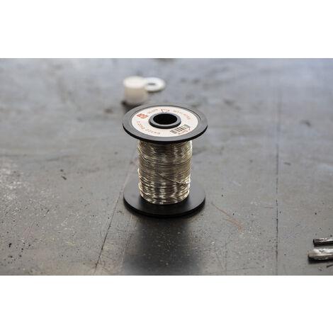 Fil de cuivre 0,4 mm² RS PRO 21 AWG Mono conducteur diamètre 0,71mm, longueur 50.9m