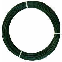 Fil De Fer Plastifié Plast Wire 3 Mm X 25 M