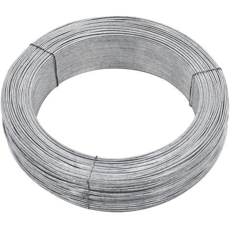 Fil de liaison de clôture 250 m 2,5 mm Acier