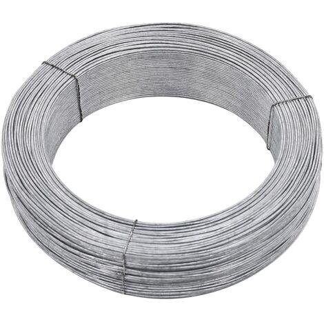 Fil de liaison de cloture 250 m 2,5 mm Acier