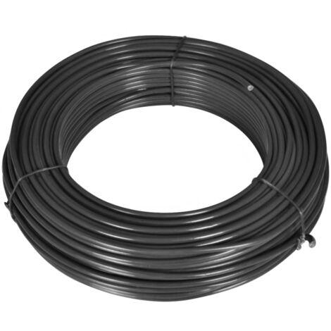 Fil de liaison pour clôture 80 m 2,1/3,1 mm Acier Gris