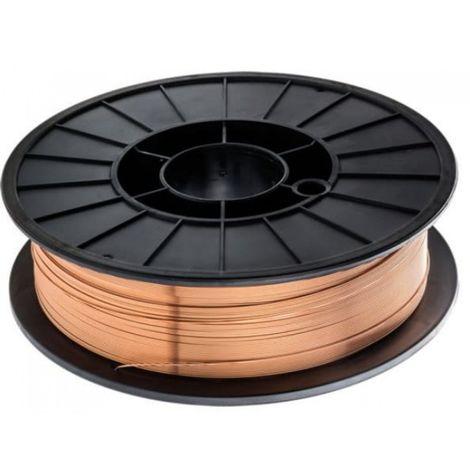 Fil de soudage en acier de 0,8 mm, 5 kg plaqué cui