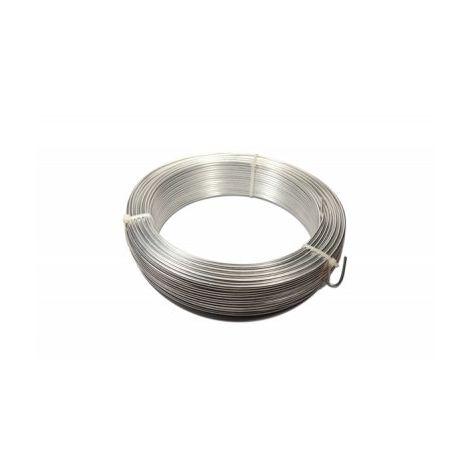 Fil de Tension Galvanisé - Diamètre 2,2mm - 25 mètres