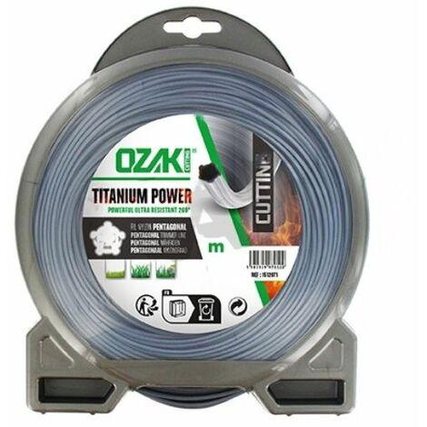 Fil debroussailleuse OZAKI Titanium Power 2.40 mm