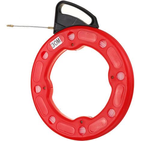 Fil d'extracteur de bande nylon flexible 30M 4mm tirant Tire-cables
