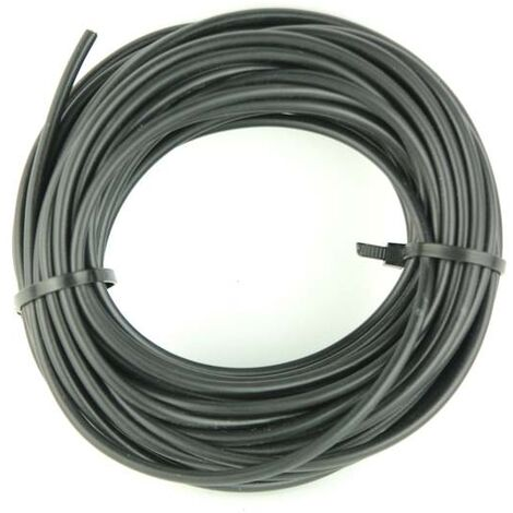 FIL ELECTRIQUE AUTO SOUPLE 1.5 mm² NOIR (10 M)
