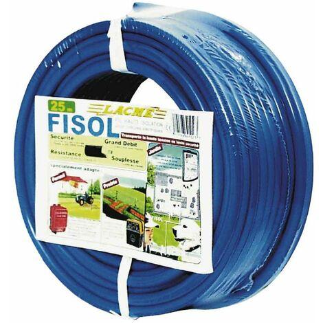 fil fisol 25m, sécurité, grand débit, résistance, souplesse.