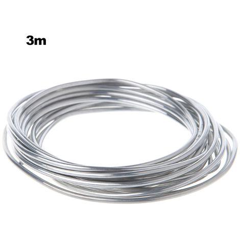 Fil fourre aluminium-aluminium a souder fil d'aluminium, 3 metres