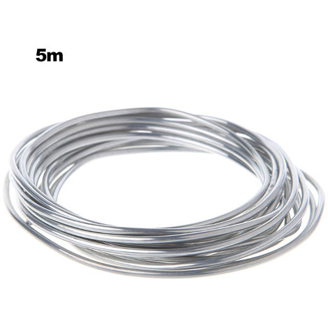 Fil fourre aluminium-aluminium a souder fil d'aluminium, 5 metres