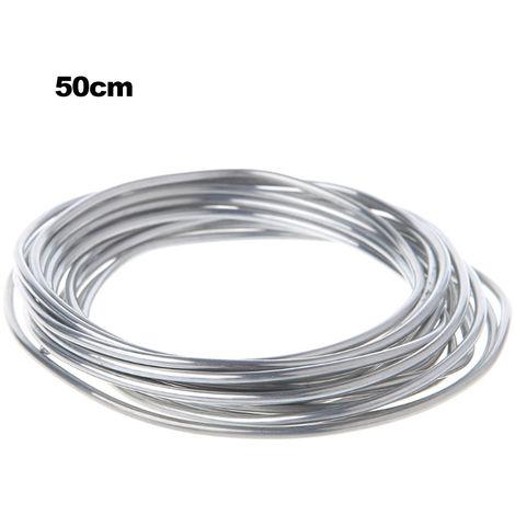 Fil fourre aluminium-aluminium a souder fil d'aluminium, 50 metres